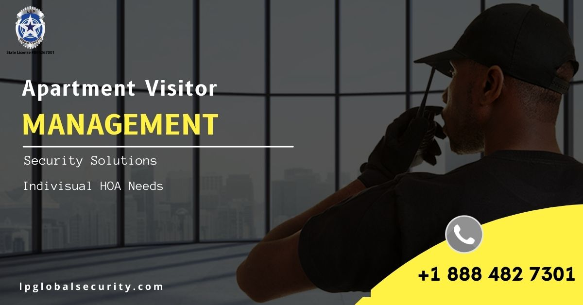 Apartment Visitor Management Professional Security Service