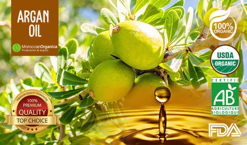 Culinary argan oil from morocco