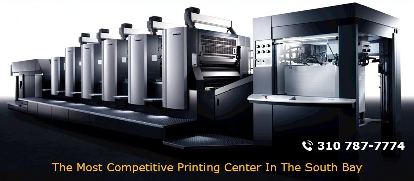 Printing services in Torrance California