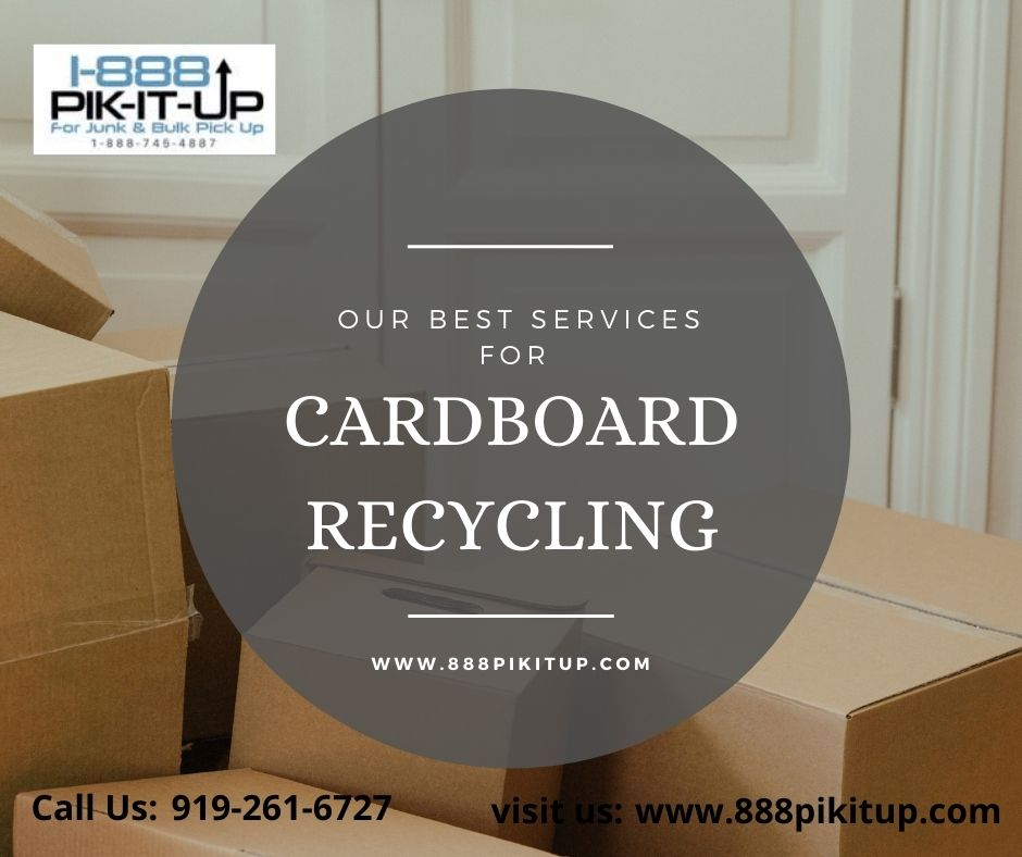 Cardboard Recycling Services 1888PIKITUP