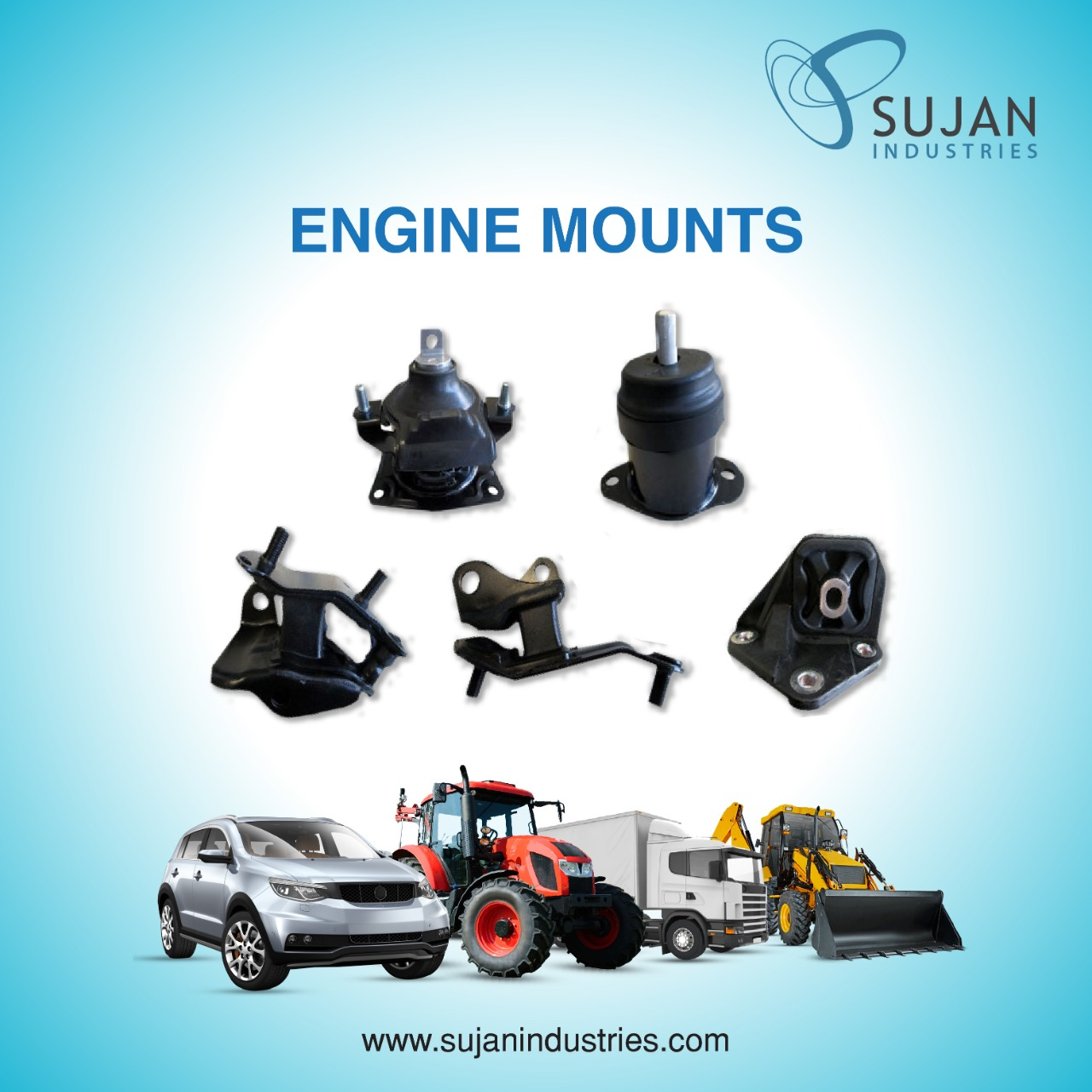 Engine Mounts : An Overview With Works and Importance in A Vehicle