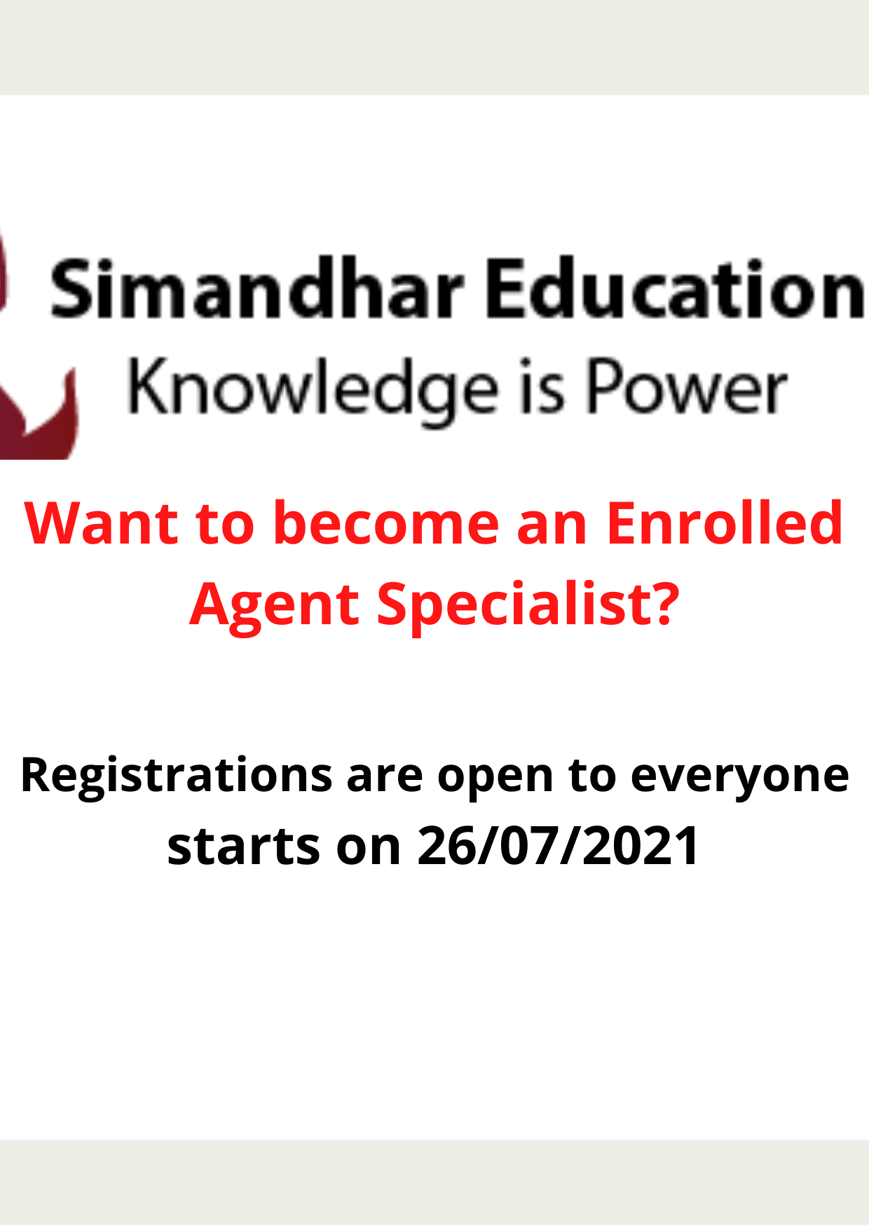 Enrolled Agent Enrolled Agent Course