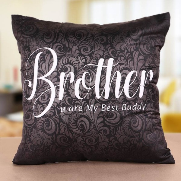 Gift Soft and Comfy Cushion and Rakhi to Stun Your Sibling MyFlowerTree