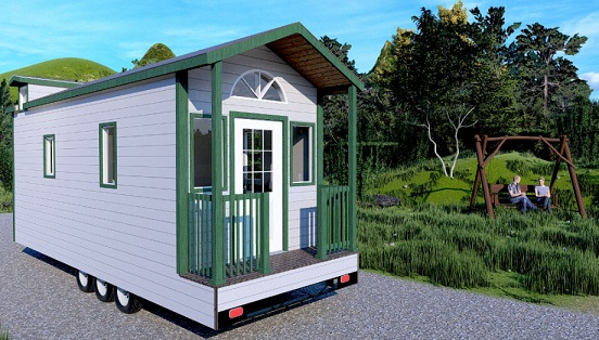 GO FOR THE CUSTOMIZABLE THOW TINY HOUSE IN AUSTIN