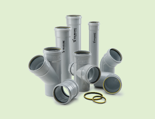 Swr Pipes and Fittings in Mumbai, India Trubore Pipes