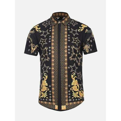 Ethnic Printed Funny Casual Shirt