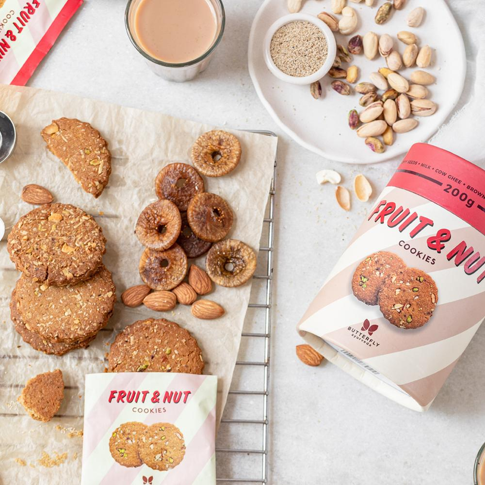 Fruit and Nut Cookies for kids