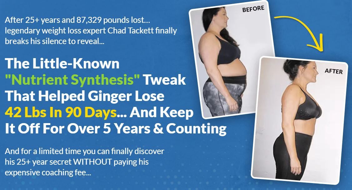 The LittleKnown Nutrient Synthesis Tweak That Helped Ginger Lose 42 Lbs In ...