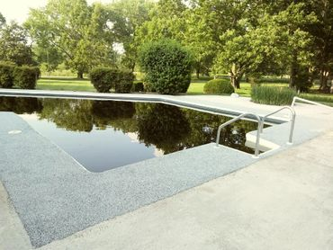 Fix that unsightly cracked concrete with a rubber surface with many feature...