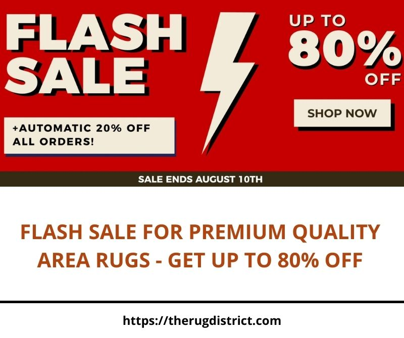 Flash Sale for Premium Quality Area Rugs Get Up to 80 Off