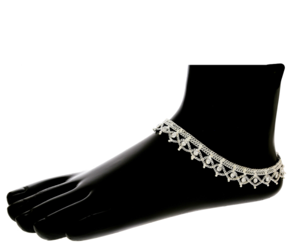Get latest simple payal design online at Anuradha Art jewellery in india.