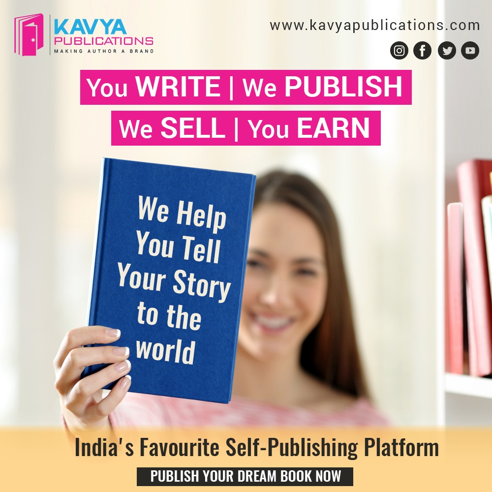Get Your Book Published with the best book Publishers in IndiaKavya Publica...
