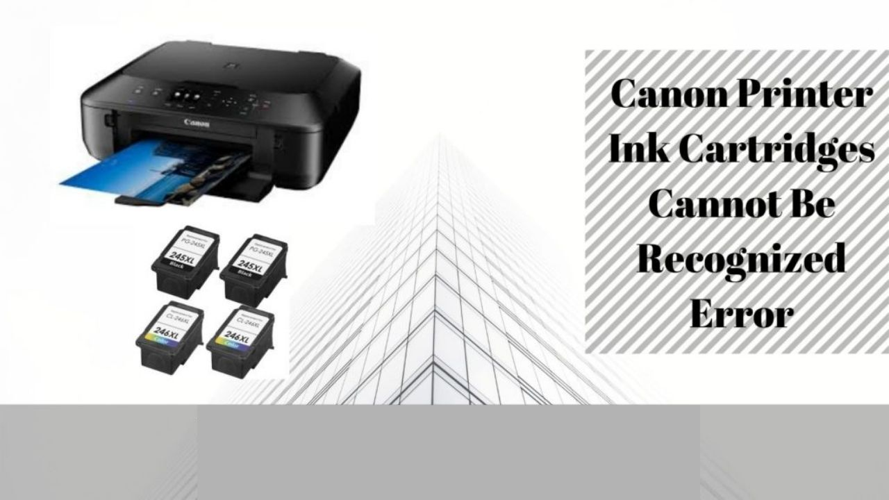 Steps To Fix Canon Printer Not Recognizing New Ink Cartridge Call 80819676...