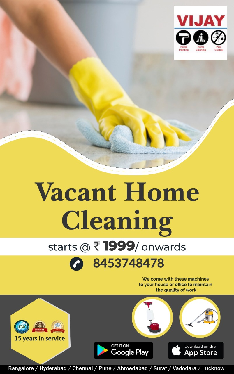 Vijay Home Services Cleaning Painting servicesPest cotrolMelamine Polishing