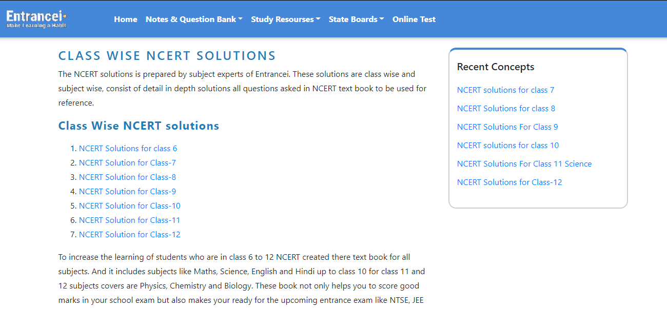 Where can I find Ncert solutions?