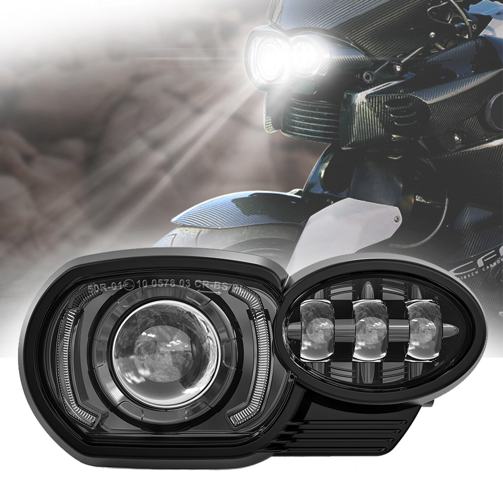 20052009 Motorcycle BMW K1200R Led Headlight Offroad