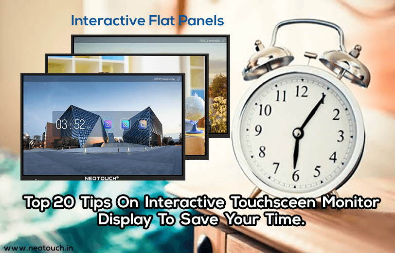 best interactive flat panel for education in india
