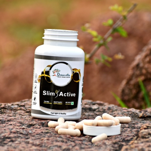 Buy organic weight control capsules online at Omkara Hills