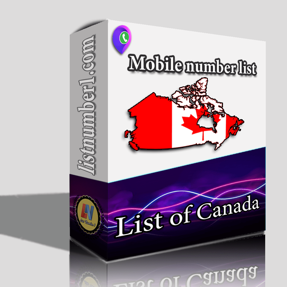 Canada Mobile Number List