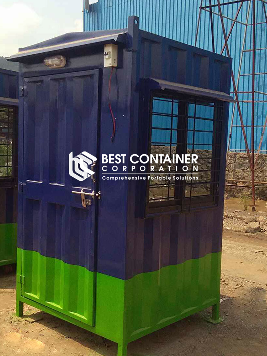 Portable Security CabinsBCC India Manufacturer of Portable Office