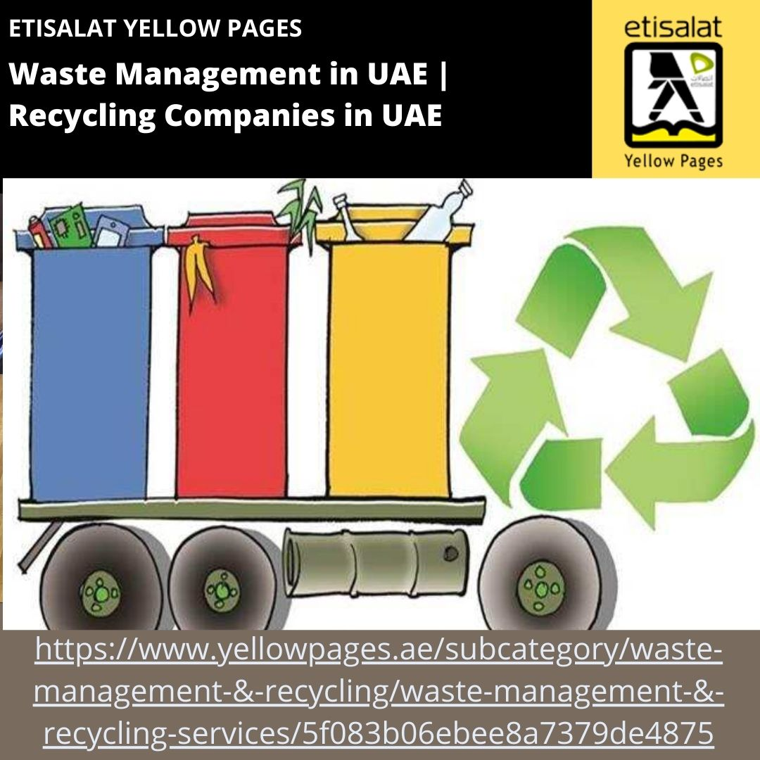 Waste Management in UAE Recycling Companies in UAE