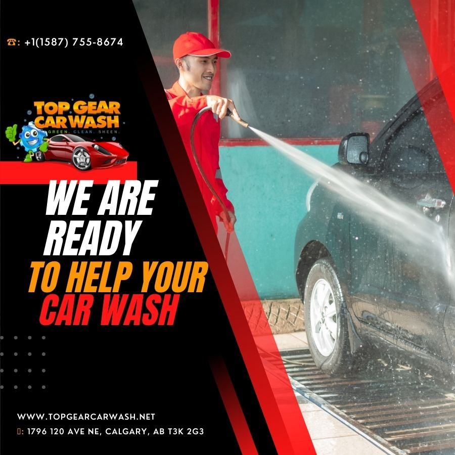 We Are Ready To Help You With Your Car Wash Needs in Calgary