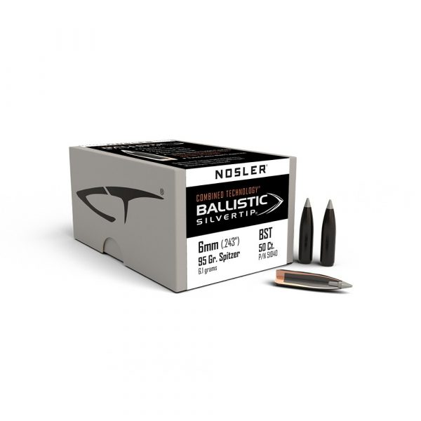 6mm 95gr Ballistic Silvertip Bullet facts and features15592481585