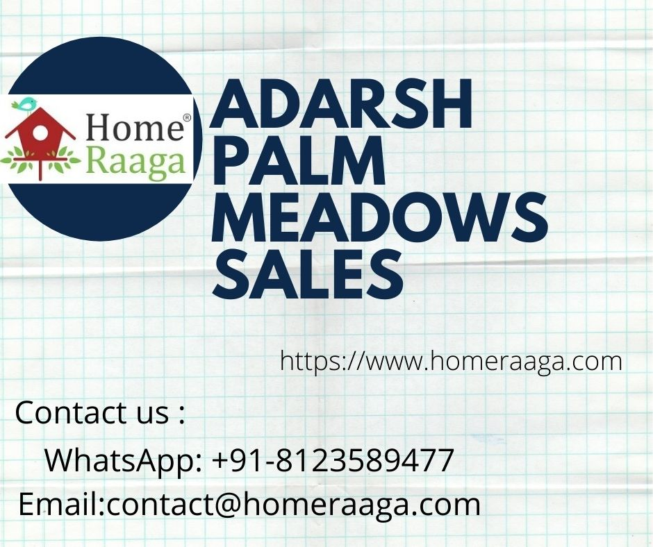 Adarsh Palm Meadows Villa for Sale Whitefield Bangalore