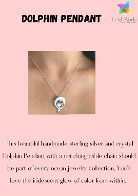 Add to cart this beautiful Dolphin Pendant
