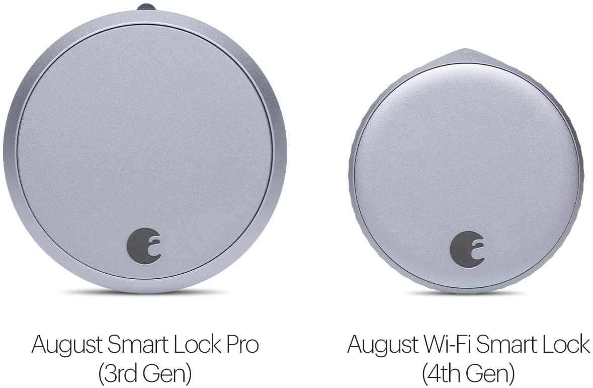 August WiFi, (4th Generation) Smart Lock Fits Your Existing Deadbolt in Mi...