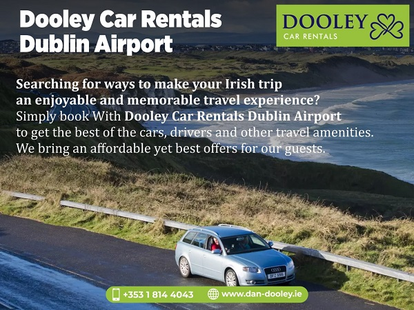 Book Your Rental Car For Trip To Ireland With Dan Dooley The Best Car Rent...