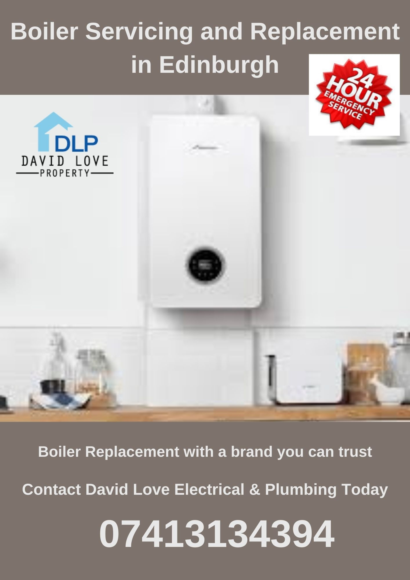 Edinburgh Boiler servicing and Replacement company David Love Electrical Pl...
