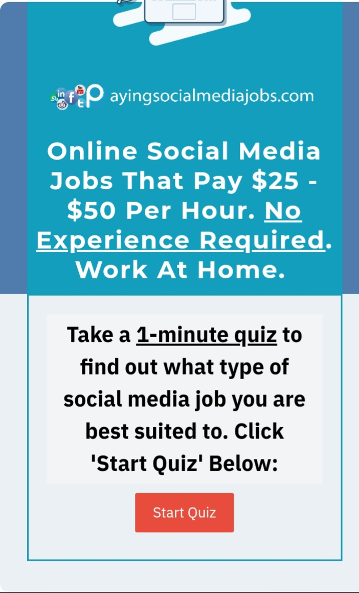 Get paid to use social media