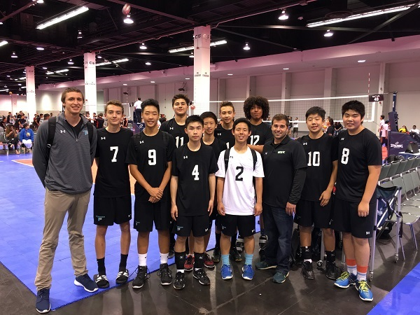 Professional Youth Volleyball in Seal Beach