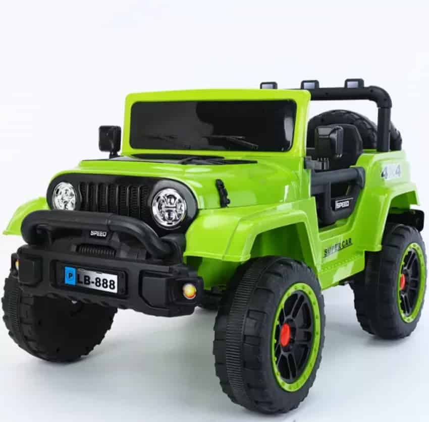 Ridertoys Power Wheels Kids Battery Operated Ride On Jeep Thar Jeep for ki...