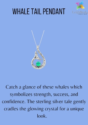 Shop for this adorable Whale tail pendant