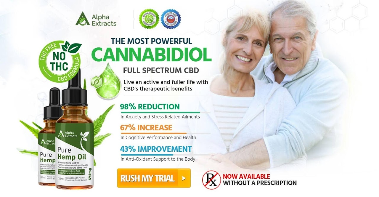 Alpha Extracts CBD Oil ( Trial Offer) CANADA Relieves Stress, Pain Discomfo...