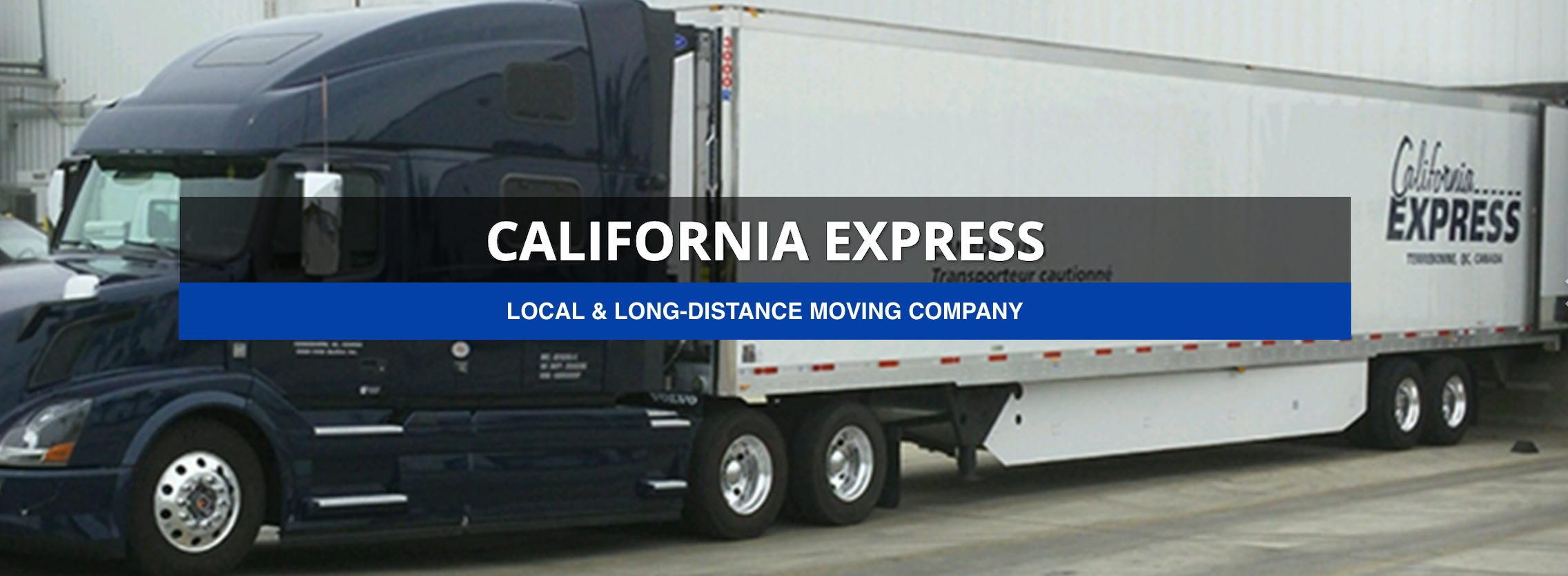 Express Moving Van Lines cheap movers from California