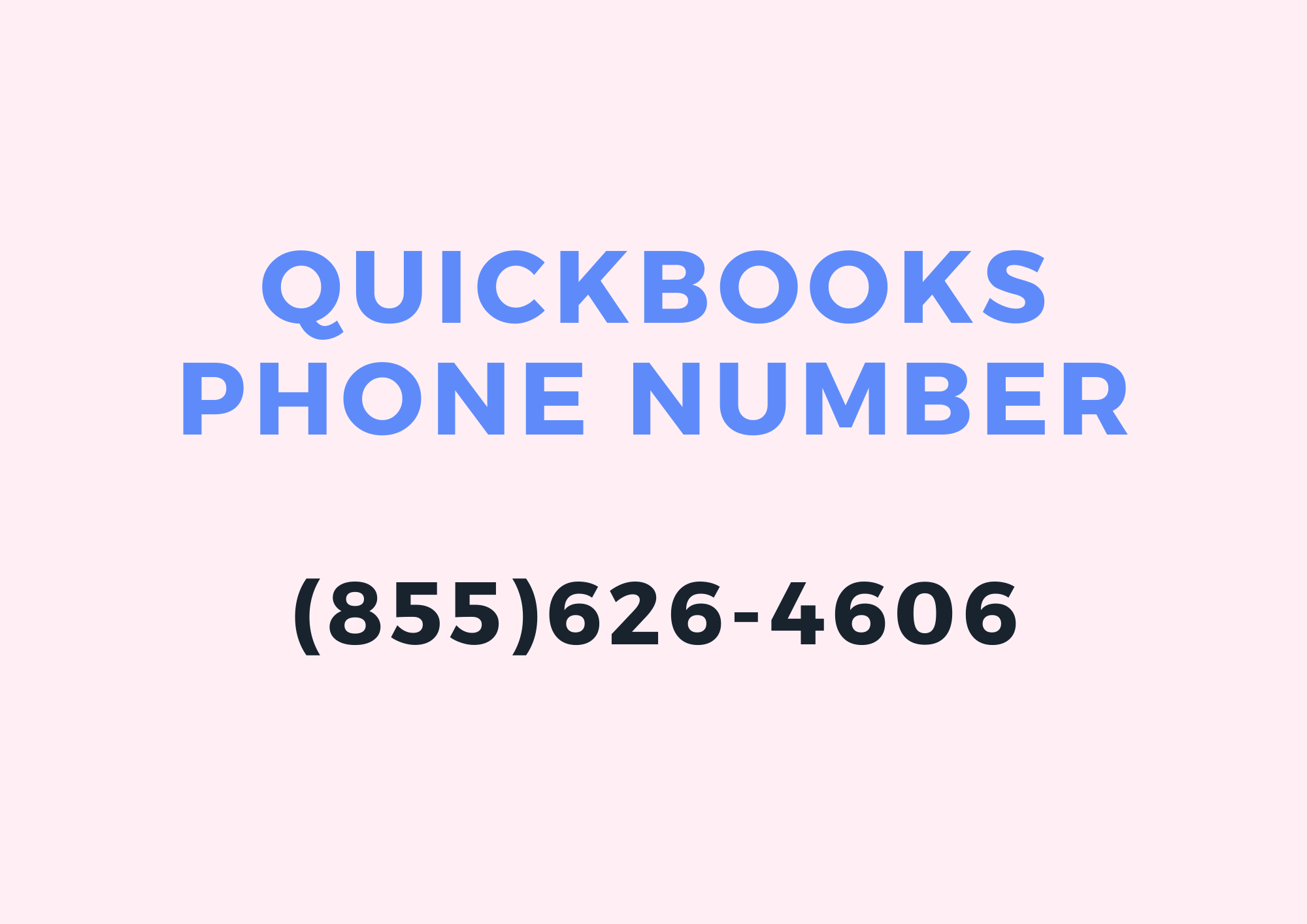 For Top Solutions For All Your QuickBooks Phone Number Problems Call Now to...
