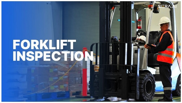 Forklift Inspection SIERA.AI