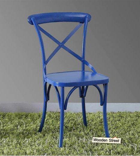 Get unique designs of metal chair at Wooden Street