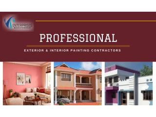 Painting Services Interior Exterior