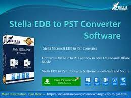 Recover edb file to pst file