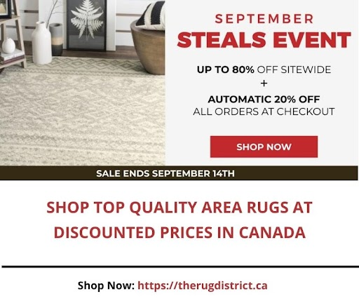 Buy Area Rugs at Discounted Prices in Canada