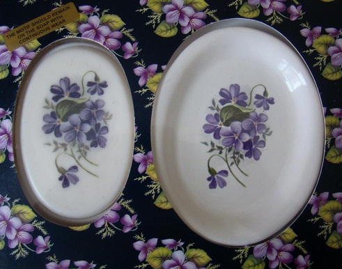 Buy World Famous Devon Violets Soap and Handpainted Dish Online from Pixiel...