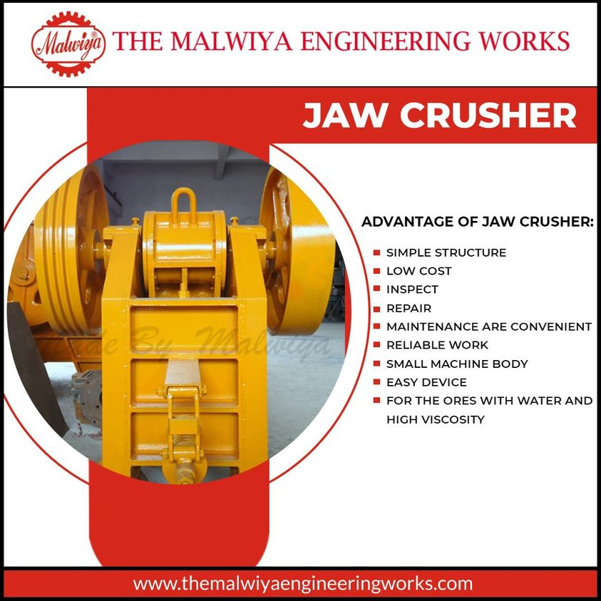 double toggle jaw crusher manufacturer in India The Malwiya Engineering Wor...