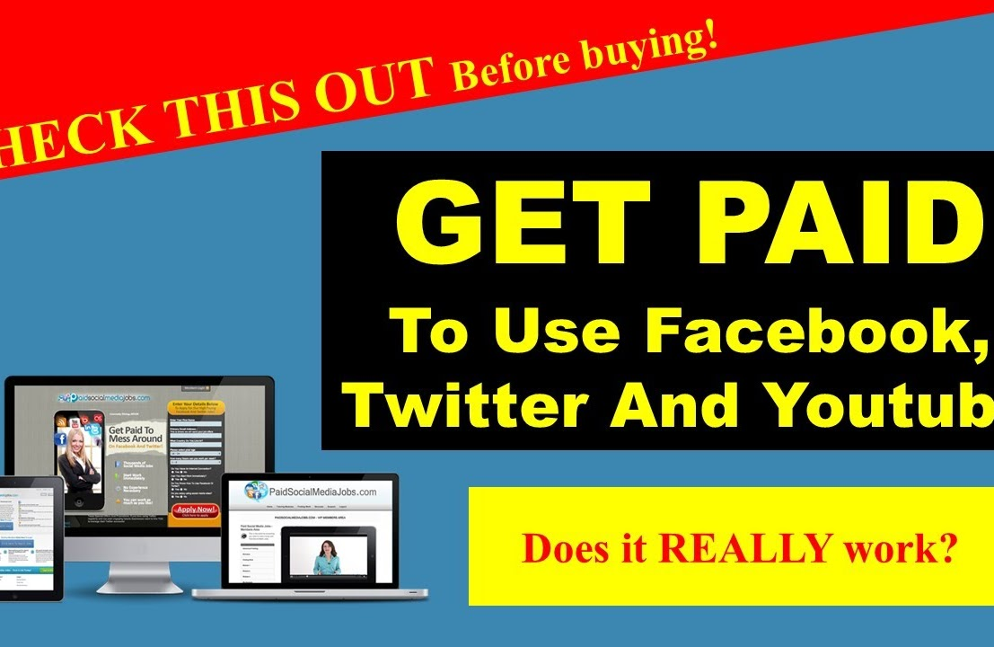 Earn up to 175day on social media sites
