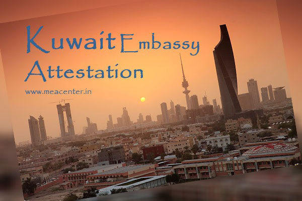 Get Certificate attestation for kuwait in Bangalore