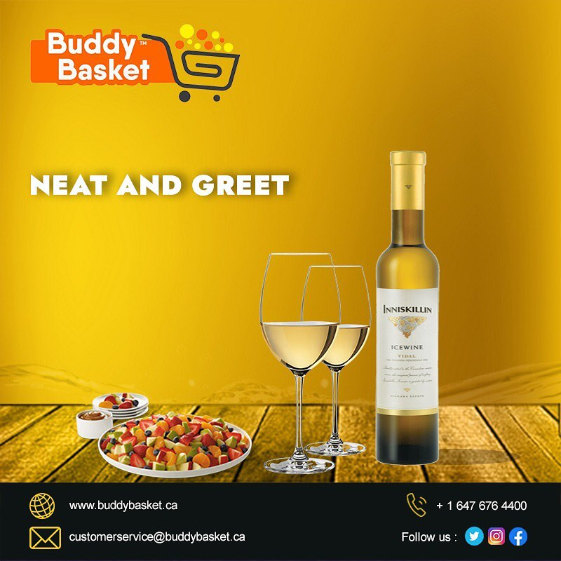 Liquor Home Delivery by Buddybasket in Brampton, Canada