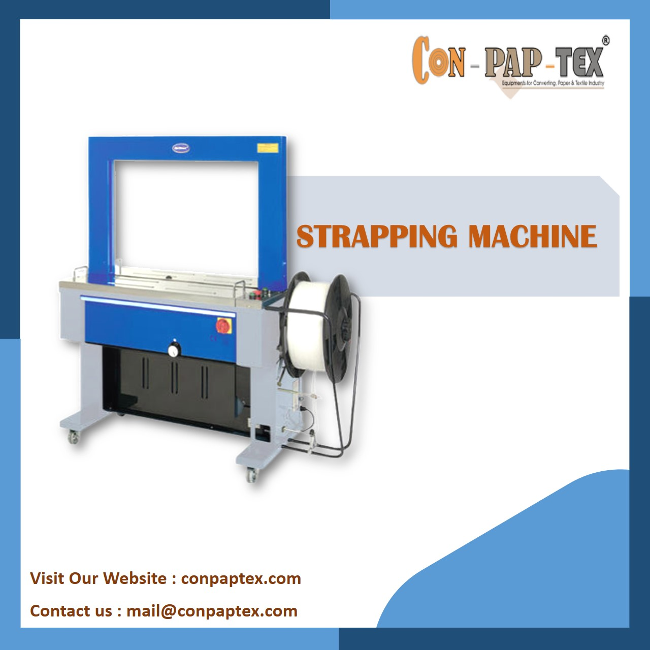 Manufacturer of strapping machine, SemiAutomatic Suppliers in best price